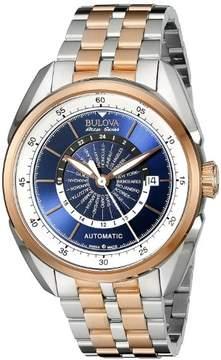 Bulova AccuSwiss Two-Tone Stainless Steel Automatic Mens Watch 65B163