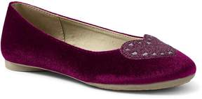 Lands' End Lands'end Girls Heart Ballet Flats