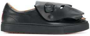 Vivienne Westwood Man panther patch sneakers