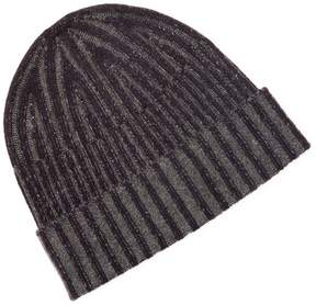 Saks Fifth Avenue Men's Plated Cashmere Beanie