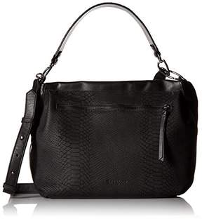 Liebeskind Berlin Women's Miramar Snakeskin and Studded Leather Hobo