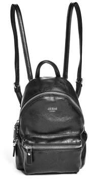 GUESS Leeza Pebbled Small Backpack