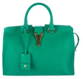 Saint Laurent Small Cabas Y Bag - GREEN - STYLE