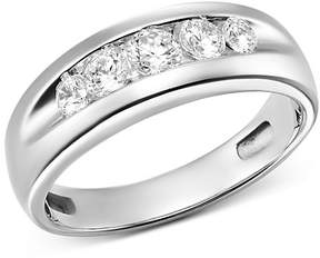 Bloomingdale's Channel-Set Diamond Ring in 14K White Gold, 0.75 ct. t.w. - 100% Exclusive