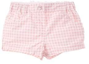Chicco Girls' Pink Checkered Short.