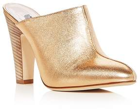 Sarah Jessica Parker Women's Rigby Leather High Heel Mules