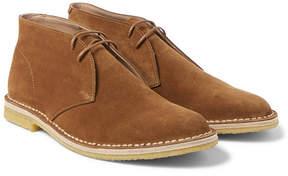 Dries Van Noten Suede Desert Boots