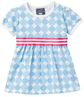 Toobydoo Floriana Circle Print Dress (Baby, Toddler, & Little Girls)