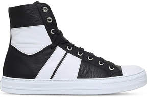 Amiri Sunset leather high-top trainers