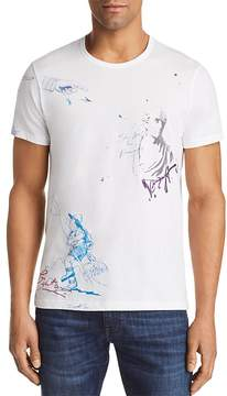 Burberry Daleford Graphic Artwork Crewneck Tee