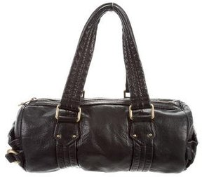 Marc Jacobs Grained Leather Shoulder Bag - BLACK - STYLE