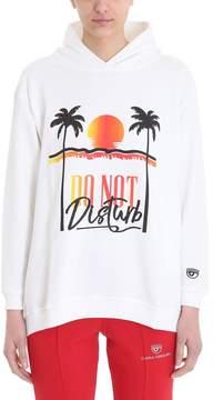 Chiara Ferragni Hoodie Do Not Disturb Sweatshirt