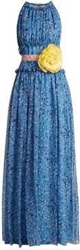 Carolina Herrera Floral-print silk-chiffon gown