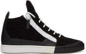 Giuseppe Zanotti Black Brek High-Top Sneakers