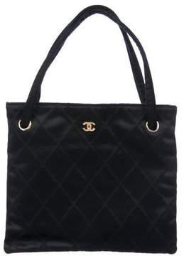 Chanel Satin Flat Bag