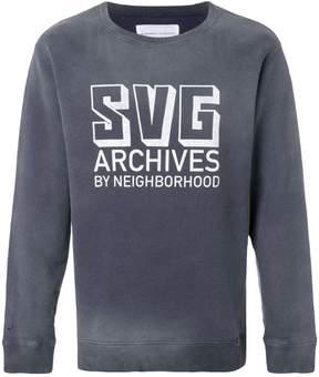 Neighborhood SVG Archives logo sweatshirt