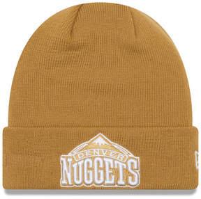 New Era Denver Nuggets Fall Time Cuff Knit Hat