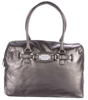 MICHAEL Michael Kors Metallic Leather Tote - METALLIC - STYLE