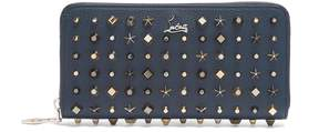 Christian Louboutin Panettone stud-embellished leather wallet