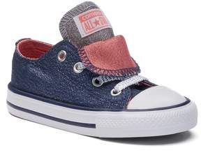 Converse Toddler Chuck Taylor All Star Shine Double-Tongue Shoes