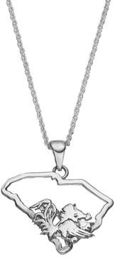Dayna U South Carolina Gamecocks Sterling Silver Pendant Necklace
