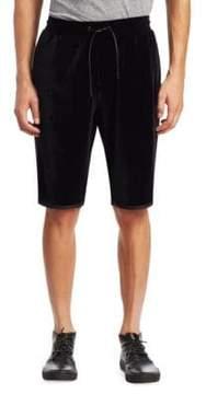 Saks Fifth Avenue x Anthony Davis Velvet Athletic Shorts