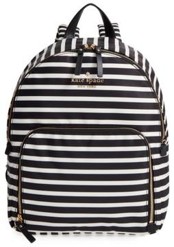 Kate Spade Watson Lane - Hartley Nylon Backpack - Black - BLACK - STYLE