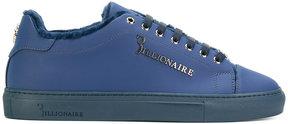 Billionaire faux fur-lined sneakers