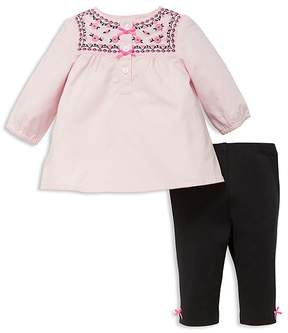 Little Me Girls' Tulip Floral Tunic Set - Baby