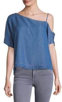 Calvin Klein Jeans Classic One Shoulder Top