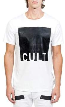 Cult of Individuality Cult Rubber Print Cotton Tee