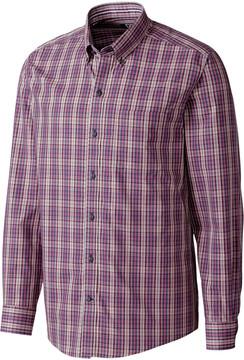 Cutter & Buck Garden Plaid Wrinkle-Free Button-Up - Men
