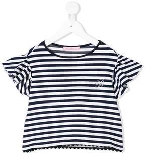 Miss Blumarine striped T-shirt