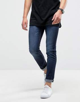 Loyalty And Faith Manor Skinny Fit Jeans in Dark Wash Blue