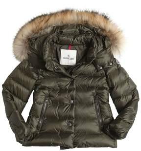 Moncler Alice Hooded Nylon Down Jacket