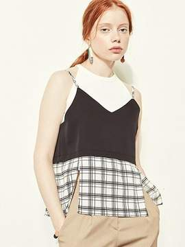 Blank Check Slit Top-wh