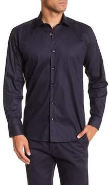Jared Lang Stripe Patterned Woven Shirt