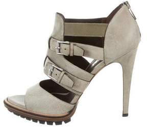 Belstaff Leather Cutout Sandals