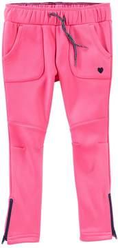 Osh Kosh Oshkosh Bgosh Toddler Girl Tricot Fleece-Lined Pink Pants