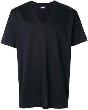 Les Hommes oversized V-neck T-shirt