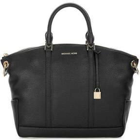 Michael Kors Beckett Large Leather Satchel - Black - 30T7GBUS3L-001 - ONE COLOR - STYLE