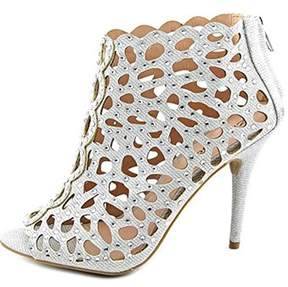 Zigi Darlah Peep-toe Embellished Ankle Booties.