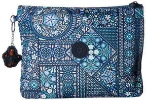 Kipling Iaka Large Wristlet Wristlet Handbags - DIZZY DARLING BLUE - STYLE
