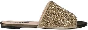 Rochas Diamond Embellished Sandals