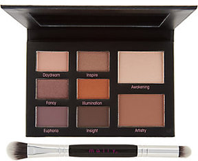 Mally Beauty Mally Muted Muse Shadow Palette w/ Double-Ended Brush