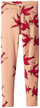 Mini Rodini Swallows Leggings Girl's Casual Pants