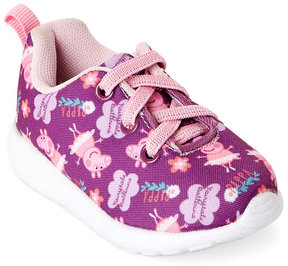 Peppa Pig Toddler Girls) Ballet Lace-Up Sneakers