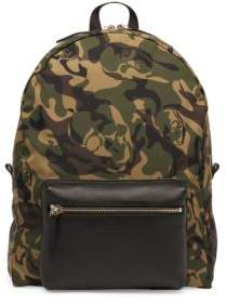 Alexander McQueen Military Nylon Backpack