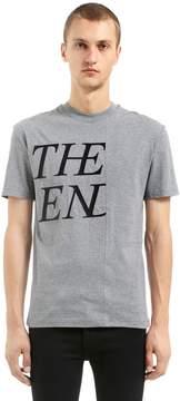 McQ The End Patchwork Cotton Jersey T-Shirt