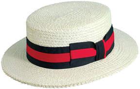 Scala Dorfman Classico Straw Boater Hat